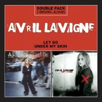 AVRIL LAVIGNE - LET GO/UNDER MY SKIN  (2 CD)  25 TRACKS INTERNATIONAL POP  NEU