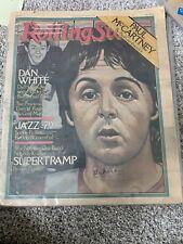 Paul Mccartney signed Old Magazine
