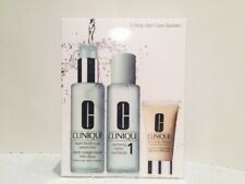 Clinique 3 -Step Skin Care System (Very Dry To Dry Skin Type 1) BNIB RRP$109