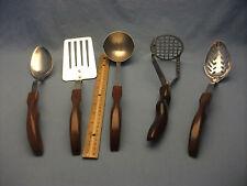 EXCLNT VNTG CUTCO 5Pc Kitchen Utensils Set Spoon Ladle Spatula Masher Slotted