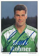 Irzik Ertan   FC St.Gallen  Autogrammkarte signiert 297385