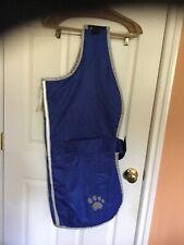 Dog  Reflective XXL Blanket coats  2 Zack &Zoey one Black one blue , Reversible