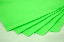 Telas y tejidos color principal verde de fieltro para costura y mercería