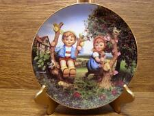 "M.J. Hummel Plate - Little Champions Collection - ""Apple Tree Boy & Girl"""