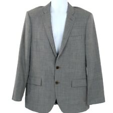 J. Crew light charcoal Factory THOMPSON VOYAGER SUIT JACKET