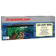 Marineland Fish Aquarium LED Light Hood for Tank 30 X 12 Inches Reptile Habitat