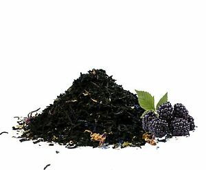 Wild Blackberry natural flavored black loose tea 1  LB  Good iced tea
