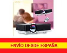 UC40 Proyector Multimedia de Cine, Fotos, Presentaciones, Juegos, calidad 1080P