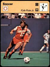 Editions Rencontre Sportscaster Football Card (1977-80) - Kyle Rote Jr.