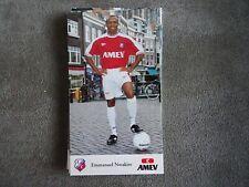 EMMANUEL NWAKIRE - FC UTRECHT - very rare - 10x17cm AUTOGRAPHCARD *