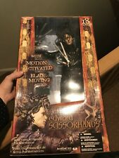 "Movie Maniacs McFarlane Figure 18"" Edward Scissorhands Animated Johnny Depp"