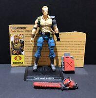G.I Joe 25th 30th 50th ROC POC Cobra Commander V50 Dollar General Figure