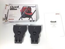 Joovy Qool Car Seat Adapters for Stroller Britax: BOB B-Safe/35/35Elite 9091 NOB