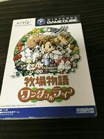 Harvest Moon Wonderful Life Nintendo Gamecube software Bokujo monogatari JAPAN