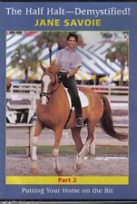 NEW Equestrian DVD HALF HALT DEMYSTIFIED 2 JANE SAVOIE