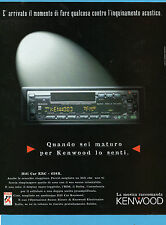 AUTO997-PUBBLICITA'/ADVERTISING-1997-KENWOOD HIFI CAR KRC 658R