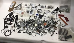 Huge Lot Harley Davidson Motorcycle Parts Pieces Screws Bolts Washers + More