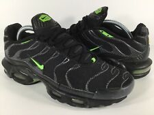 59c1efae9d Nike Air Max Plus Tn Electric Green Black Carbon Fiber 2011 Mens Size 8.5  Rare