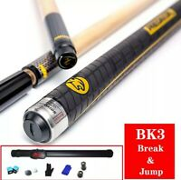 3142 Brand BK3 Pool Punch & Jump Cue 13mm Tip Billiard Stick Jump Cues Sport....