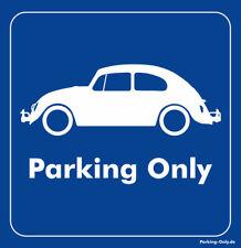 Parking Only - VW Käfer - Aufkleber
