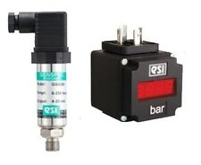 ESI GS4200 General Purpose Pressure Transducer 0-25Bar W/ PM1000 PLUG-IN DISPLAY