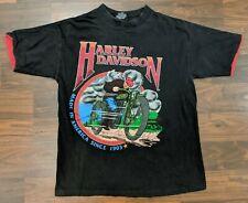 VTG Harley Davidson Fun Wear Old School Mens Tee Size Medium