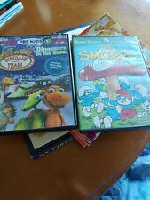 Dinosaur Train And Smurfs DVD