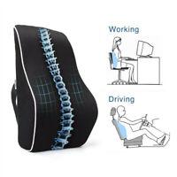Memory Foam Ventilative Mesh Lumbar Support Back Cushion Ergonomic Lumbar Pillow