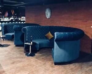 booth benches for houses, restaurants, cafe shops, barber shops 002