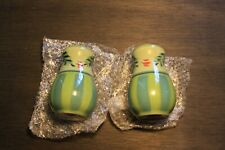Southern Living at Home Handpainted Salt, Pepper Shaker Gail Pittman. Provence
