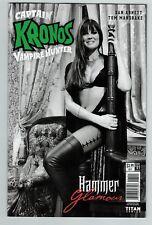 Captain Kronos 1 Glamour variant cover Hammer Movie comics Titan Comics