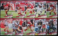 SAN FRANCISCO 49ERS 🏈 2020 PRESTIGE FOOTBALL 10 CARD TEAM SET WITH 2 ROOKIES