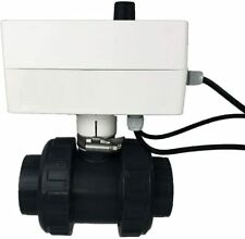 well2wellness® PVC Kugelhahn 50mm mit Temperatursteuerung Solarsteuerung 230V