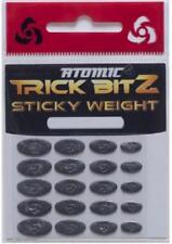 Stick on Lead Weight - Medium - Atomic Trick BitZ - 0.125g/0.16g/0.2g/0.25g