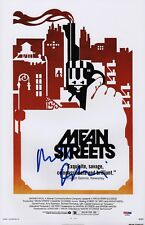ROBERT DE NIRO SIGNED MEAN STREETS 11X17 MOVIE POSTER PSA COA AD48048