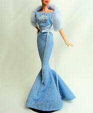 Barbie Vestido De Moda Zodíaco Sagitario equipada y estola de piel sintética con Zapatos