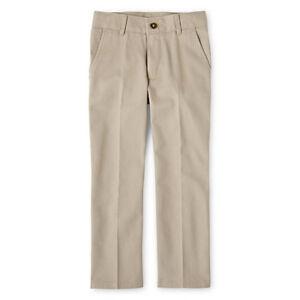 NWT Boy's Izod Khaki Pants - Adjustable Waist  - Size 4