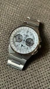 CITIZEN ATTESA CC9000-51A Solar White Dial Watch