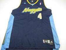 Martin Men's Large Adidas Denver Nuggets NBA Jersey #4 Basketball