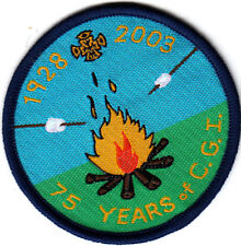 Girl Guide Badge 75th Anniversary CATHOLIC GUIDES of IRELAND