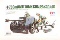 Tamiya 1/35 Échelle Allemand 75mm Anti Tank Pistolet