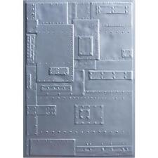 Sizzix 3D Texture Fades gaufrage dossiers par Tim Holtz-Foundry 662717