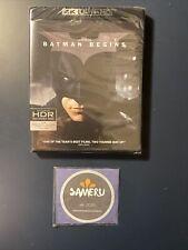 New Batman Begins 4K Ultra Hd Blu-Ray Sealed Usa Seller Free Shipping!