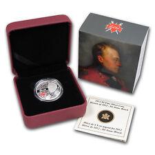 2012 Canada 1/4 oz Silver $4 Heroes of 1812 Sir Isaac Brock - SKU #72410