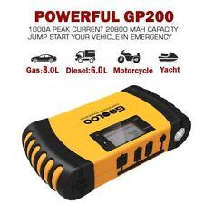 GOOLOO 1000A Peak 20800mAh Portable Car Jump Starter Australia