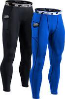 TSLA Men's Compression Pants, Athletic Sports Leggings & Workout Running Pant