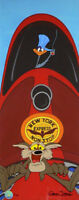 Chuck Jones Zip n Snort 2009 Warner Brothers Limited Edition Cel of 60 railroad