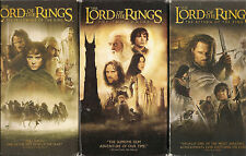 MOVIES TRILOGY VHS Tapes - LORD OF THE RINGS - Used