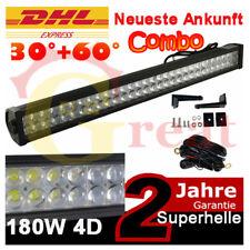 """34"""" Rampe 180W 4D LED Lichtleisten SUV Jeep Boote Lichtbalken Werklamp Lightbar"""