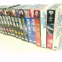 VHS Star Trek Tapes Lot Of 17 Wrath Of Khan Search For Spock Next Generation